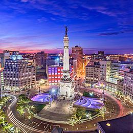 Photo of Indianapolis traffic circle