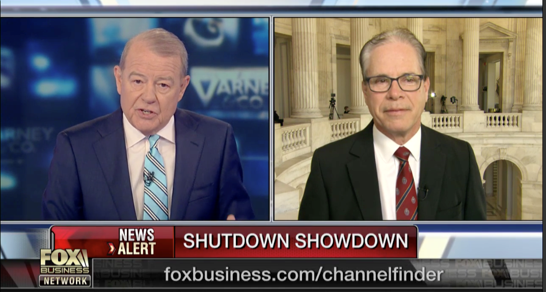 Senator Braun on Fox Business